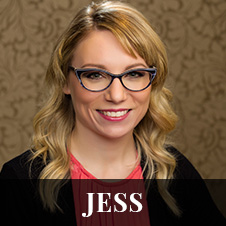 Headshot of Jess - Support Staff