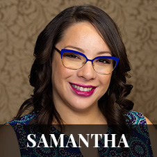 Headshot of Samantha - Support Staff