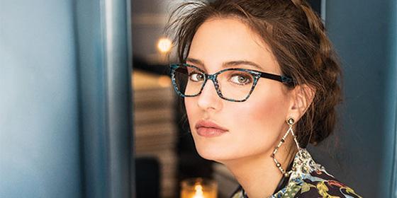Headshot of woman wearing eyeglasses